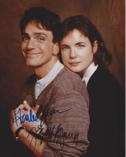 "HANK AZARIA as CRAIG SCHAEFFER and ELIZABETH MONTGOMERY as JESSIE KENT on TV Series ""IF NOT FOR YOU"" Signed by Both 8x10 Color Photo"