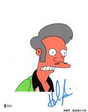 "Hank Azaria Autographed 8"" x 10"" The Simpsons Apu Nahasapeemapetilon Photograph - Beckett COA"