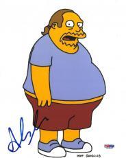 Hank Azaria Signed Simpsons Authentic Autographed 8x10 Photo PSA/DNA #L63844