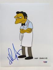 Hank Azaria Signed Simpsons Authentic Autographed 8x10 Photo (PSA/DNA) #L63845