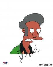 Hank Azaria Signed Simpsons Authentic Autographed 8x10 Photo PSA/DNA #L63846
