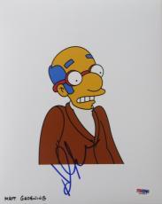 Hank Azaria Signed Simpsons Authentic Autographed 8x10 Photo PSA/DNA #L63847