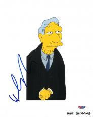Hank Azaria Signed Simpsons Authentic Autographed 8x10 Photo PSA/DNA #L63848