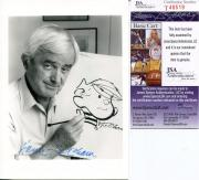 Hank Ketcham Cartoonist Dennis The Menace Signed Autograph Jsa Authenticated