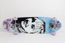 Hanna Montana – Pop Music Star – Miley Cyrus Signed Autographed Disney Skateboard (JSA COA)
