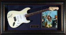 Miley Cyrus - Laser Engraved Signature Framed Guitar