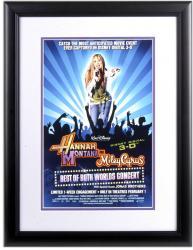 Hannah Montana Framed 11x17 Movie Poster Print