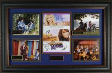 "Hannah Montana ""The Movie"" Cast Signed Display"
