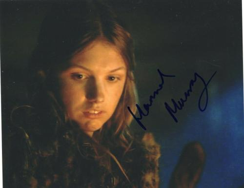 Hannah Murray Signed 8x10 Photo w/COA Game Of Thrones Skins #1