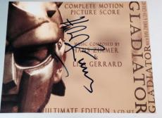 "Hans Zimmer Signed Autograph ""gladiator"" Composer Rare Soundtrack Poster Photo"