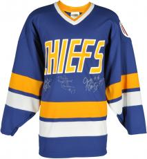 Jack Hanson, Steve Hanson, Jeff Hanson Autographed Jersey