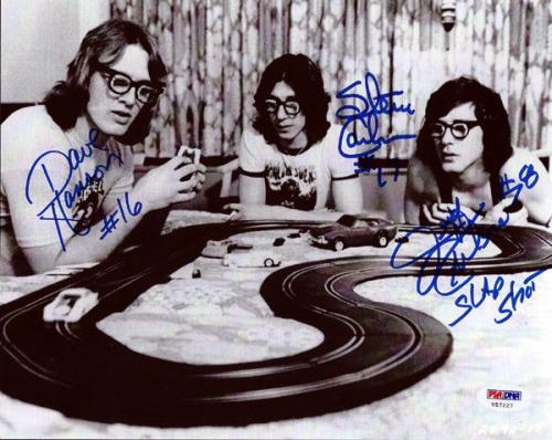 Hanson Brothers Autographed Signed 8x10 Photo Chiefs Slap Shot Psa/dna 72664