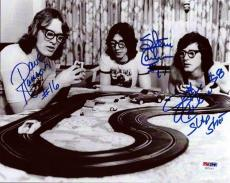 Hanson Brothers Autographed Signed 8x10 Photo Chiefs Slap Shot Psa/dna
