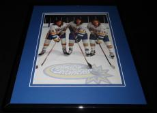 Hanson Brothers Slap Shot 2007 Framed 11x14 Photo Poster Display
