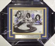 Hanson Brothers Slapshot Autographed Signed Framed 8x10 Photo 3 Sigss Mcs 108003