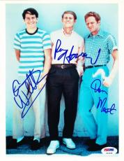 Happy Days Cast Signed 8x10 Photo Autograph Ron Howard Don Most Anson Williams