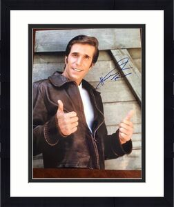 "Happy Days, ""The Fonz"", Henry Winkler ""Autographed"" 16x20 Photo"