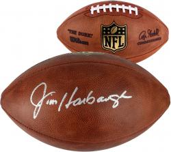 Jim Harbaugh San Francisco 49ers Autographed Pro Football