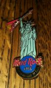 Hard Rock Cafe Hrc New York Liberty Statue Guitar Stop Collectible Pin /le Rare