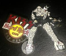 Hard Rock Cafe Key West Fl Kiss Music Band Gene Simmons Guitar Pin Rare Le/500