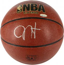 James Harden Autographed Indoor Outdoor Basketball - MM
