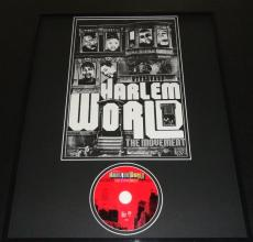 Harlem World The Movement 1998 Framed 16x20 CD & Poster Display