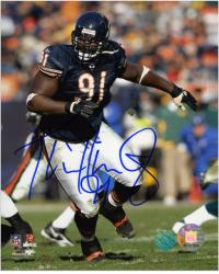 Tommie Harris Autographed Photo - 8x10 Mounted Memories