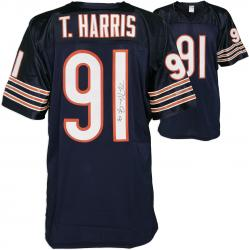 Tommie Harris Autographed Jersey - Mounted Memories