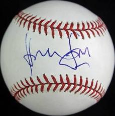 Harrison Ford 42 Signed Oml Baseball Autographed Psa/dna #v10749
