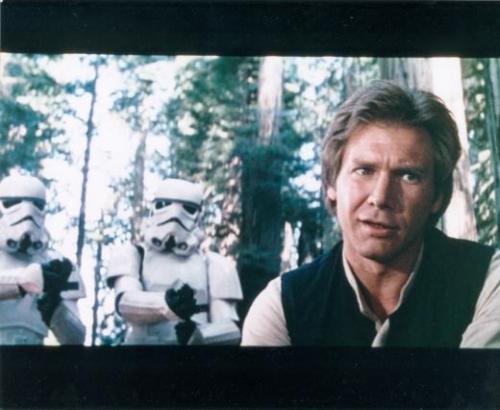 Harrison Ford 8x10 photo (Star Wars Return of the Jedi Han Solo) Image #1