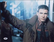 Harrison Ford  Autographed 11x14 Photo Psa/dna  Q29919 Signed
