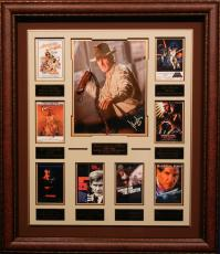 Harrison Ford Autographed Framed Movie Collection