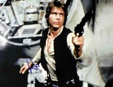 Harrison Ford Autographed Han Solo Signed 20x16 Poster PSA