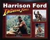 Harrison Ford Autographed Indiana Jones Photo In Custom Framed Display AFT