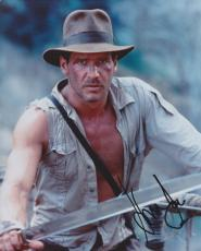 Harrison Ford Autographed Indiana Jones 8x10 Photo