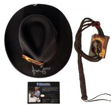 Harrison Ford Autographed Indiana Jones Hat Official Pix COA UACC RD AFTAL RACC