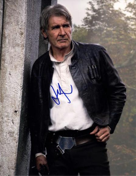 Harrison Ford Autographed Signed 11x14 Glossy Photo AFTAL UACC RD COA