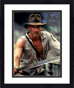 Harrison Ford Autographed Signed 11x14 Indiana Jones Glossy Photo AFTAL UACC RD