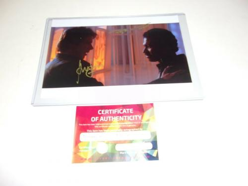 Harrison Ford Billy Dee Williams Star Wars Han Solo Actors W/coa Signed Photo