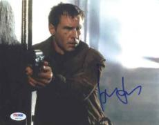 Harrison Ford Blade Runner Autograph Signed 8x10 Photo Certified PSA/DNA LOA