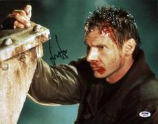 Harrison Ford Blade Runner Signed 11x14 Photo Psa/dna #u59379