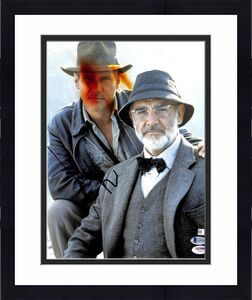 Harrison Ford Indiana Jones and the Last Crusade Signed 11x14 Photo BAS #A10166
