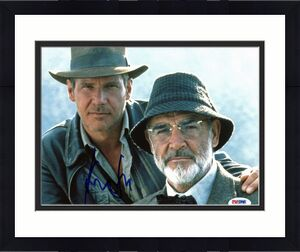 Harrison Ford Indiana Jones and the Last Crusade Signed 8x10 Photo PSA #W00448
