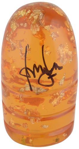 Harrison Ford Indiana Jones Autographed Amber Sankara Stone - BAS