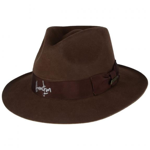 Harrison Ford Indiana Jones Autographed Fedora Hat - BAS