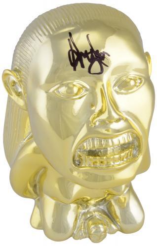 Harrison Ford Indiana Jones Autographed Fertility Idol - BAS