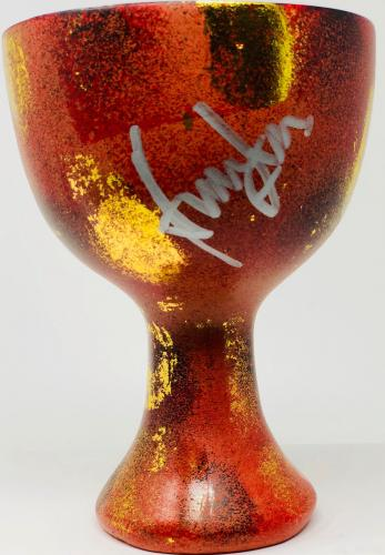 Harrison Ford Indiana Jones Autographed Holy Grail Cup BAS Beckett Witnessed