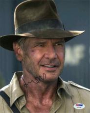 Harrison Ford Indiana Jones Autographed Signed 8x10 Photo Certified PSA/DNA LOA