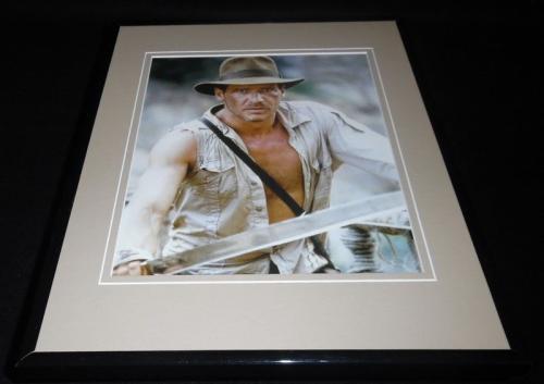 Harrison Ford Indiana Jones Framed 11x14 Photo Display