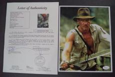 Harrison Ford Indiana Jones Movie Signed Autograph 8x10 Photo Jsa Loa #z09444